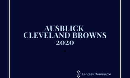 #firstimpression 2020 CLEVELAND BROWNS