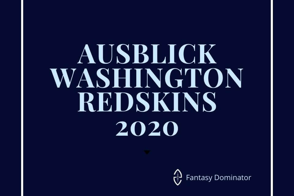 #firstimpression 2020 REDSKINS
