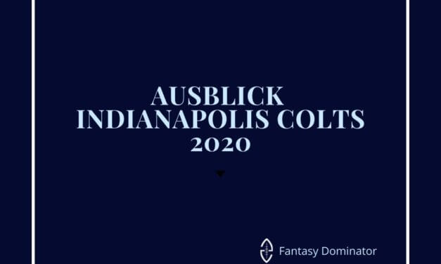 #firstimpression 2020 INDIANAPOLIS COLTS