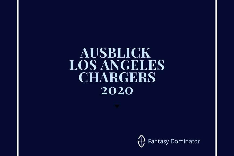 #firstimpression 2020 LA CHARGERS