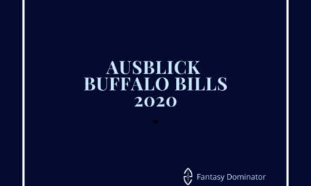 #firstimpression 2020 BUFFALO BILLS