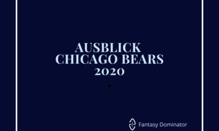 #firstimpression 2020 CHICAGO BEARS