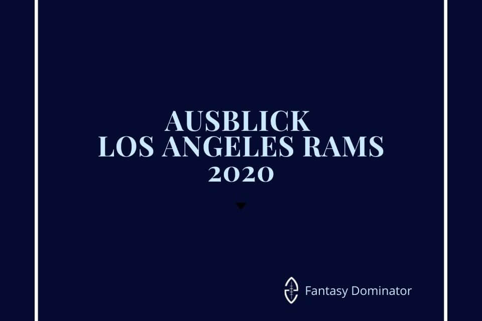 #firstimpression 2020 LOS ANGELES RAMS