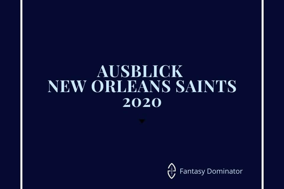 #firstimpression 2020 NEW ORLEANS SAINTS